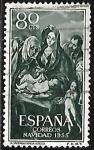Stamps : Europe : Spain :  Navidad 1955