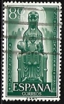 Stamps : Europe : Spain :  Año Jubilar - Monserrat