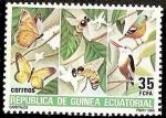 Stamps Equatorial Guinea -  Cafetales