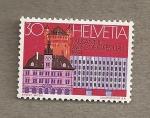 Stamps Switzerland -  XVII Congreso UPU