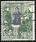 Sellos de Europa - España -  Misterios del Sto. Rosario - Anónimo