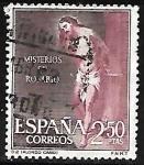 Sellos del Mundo : Europa : España :  Misterios del Sto. Rosario - La Flagelacion - Alonso Cano  La flagelación