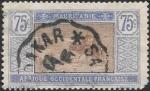 Stamps : Africa : Mauritania :  ganado