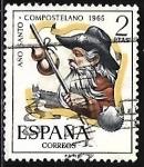 Stamps : Europe : Spain :  Año Santo Compostelan