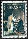Stamps : Europe : Spain :  San José de Calasanz