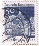 Stamps Germany -  ELLWANGEN / JAGST