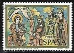 Sellos de Europa - España -  Navidad 1977 - Adoración de los Reyes - Jaca