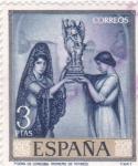 Stamps : Europe : Spain :  POEMA DE CORDOBA (ROMERO DE TORRES)(42)