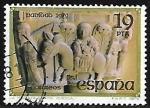Sellos de Europa - España -  La Huida de Egipto - Huesca