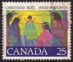 sello : America : Canadá : Navidad 1977