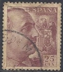 Stamps Europe - Spain -  1048_General Franco