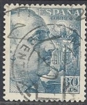Stamps Europe - Spain -  1049_General Franco