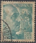Stamps Europe - Spain -  1050_General Franco