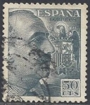 Stamps Europe - Spain -  1053_General Franco