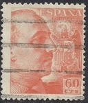 Stamps Europe - Spain -  1054_General Franco