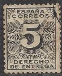 Stamps Europe - Spain -  1931_00_Derechos de libramiento