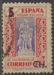 Stamps Europe - Spain -  1938_0027_Beneficiencia