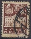 Stamps Europe - Spain -  1942_33_Barcelona_Fachada