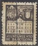 Stamps Europe - Spain -  1942_35_Barcelona_Fachada