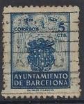 Stamps Europe - Spain -  1944_56_Barcelona_Escudo