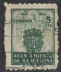Stamps Europe - Spain -  1944_57_Barcelona_Escudo
