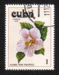 Stamps America - Cuba -  Ibiscus