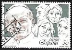 de Europa - España -  Papa y Juventud