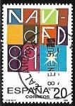 de Europa - España -  Navidad'89