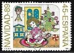 de Europa - España -  Navidad - 89
