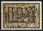 de Europa - España -  Navidad 1973 - La Adoración de los Reyes
