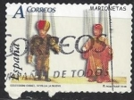 de Europa - España -  4199_Juguetes, marionetas