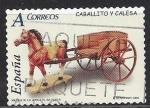 de Europa - España -  4205_Juguetes, calesa