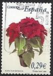 de Europa - España -  4215_Flor de pascua