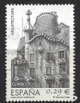 Sellos del Mundo : Europa : España :  4243_Casa Batlló