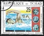 Sellos de Africa - Chad -  Juegos Olimpicos de Munich - Natación