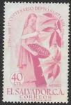 Stamps : America : El_Salvador :  aniversarios