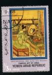 Stamps Asia - Yemen -  Arte chino