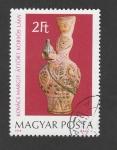 Stamps Hungary -  Figuras por Margiit Kovacs