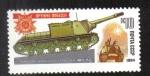 Stamps Russia -  Vehículos blindados de la Segunda Guerra Mundial.