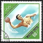 Stamps : Europe : Hungary :  Munich 1972 - Water-polo