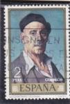 Stamps : Europe : Spain :  AUTORRETRATO (Zuloaga)(42)