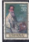 Sellos del Mundo : Europa : España :  MI TIO DANIEL(Zuloaga)(42)