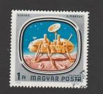 Stamps Europe - Hungary -  Satélite Viking