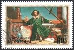 Stamps Mongolia -  500th  ANIVERSARIO  DEL  NACIMIENTO  DE  NICOLÁS  COPÉRNICO  ASTRÓNOMO  Y  MATEMÁTICO