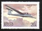 Stamps Europe - Russia -  Historia de planeadores soviéticos