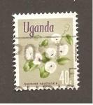 sello : Africa : Uganda : RESERVADO JORGE GOMEZ ROSAS