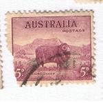 Sellos del Mundo : Oceania : Australia : Merino Sheep