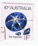 Sellos del Mundo : Oceania : Australia : Star sapphire