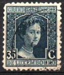 Stamps Europe - Luxembourg -  GRAN  DUQUESA  MARIE  ADELAIDE