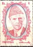 Stamps Asia - Pakistan -  MOHAMMAD  ALÍ  JINNA
